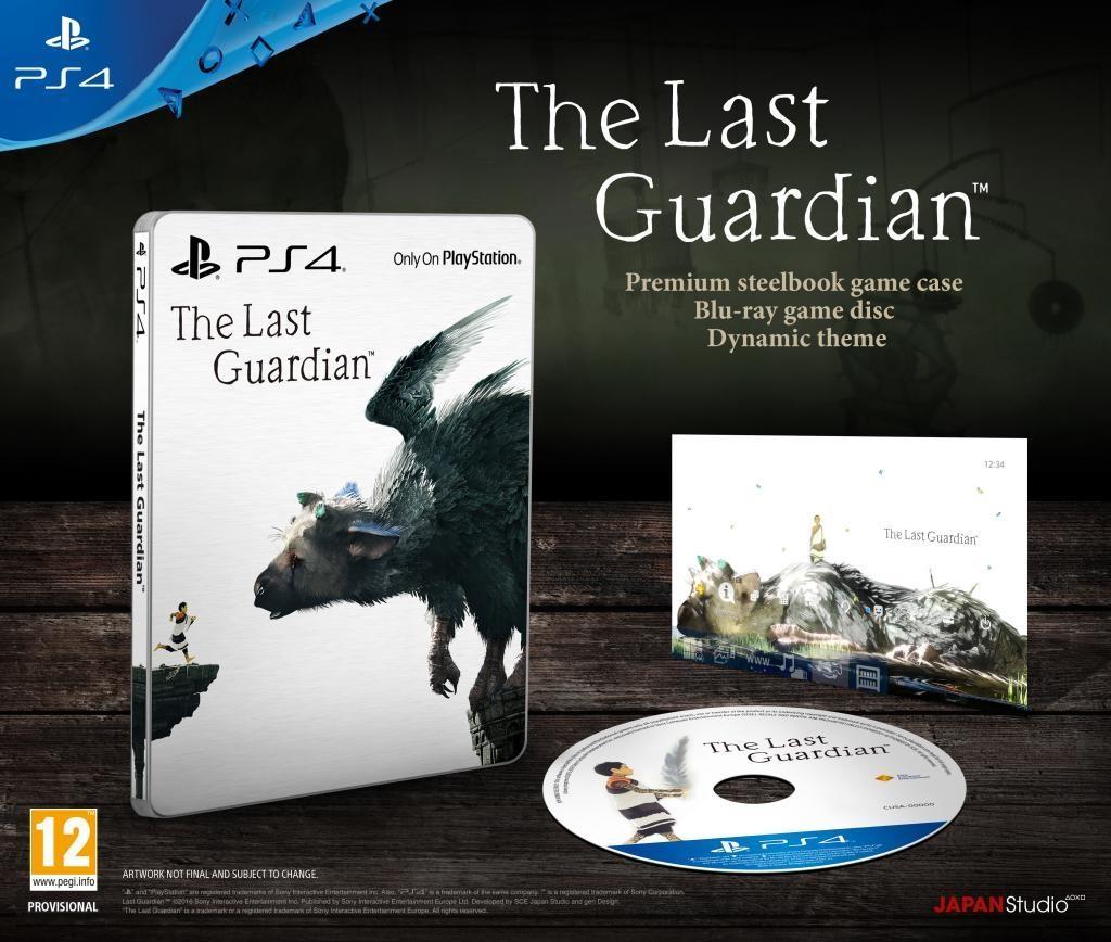 The Last Guardian édition Spéciale sur PS4 (reference-gaming.com)