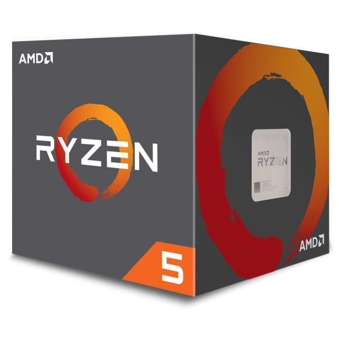 Processeur AMD Ryzen 5 2600 Wraith Stealth Edition + 3 mois de gamepass