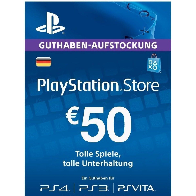 Carte recharge PlayStation Network PSN de 50€ (Dématérialisé - Compte PSN DE Uniquement)