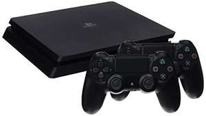 Pack console Sony PlayStation PS4 Slim (1 To, noir) + 2ème manette