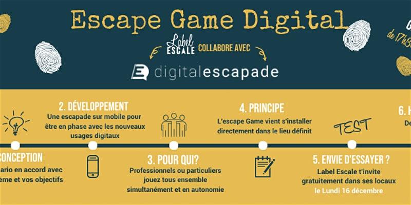 Escape Game Digital à Label Escale Gratuit - Nantes (44)
