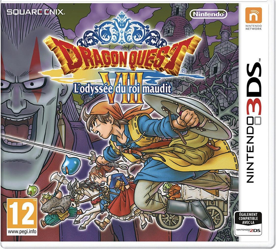 Dragon Quest VIII - L'odyssée du roi maudit sur Nintendo 3DS (+0.59€ en SuperPoints)