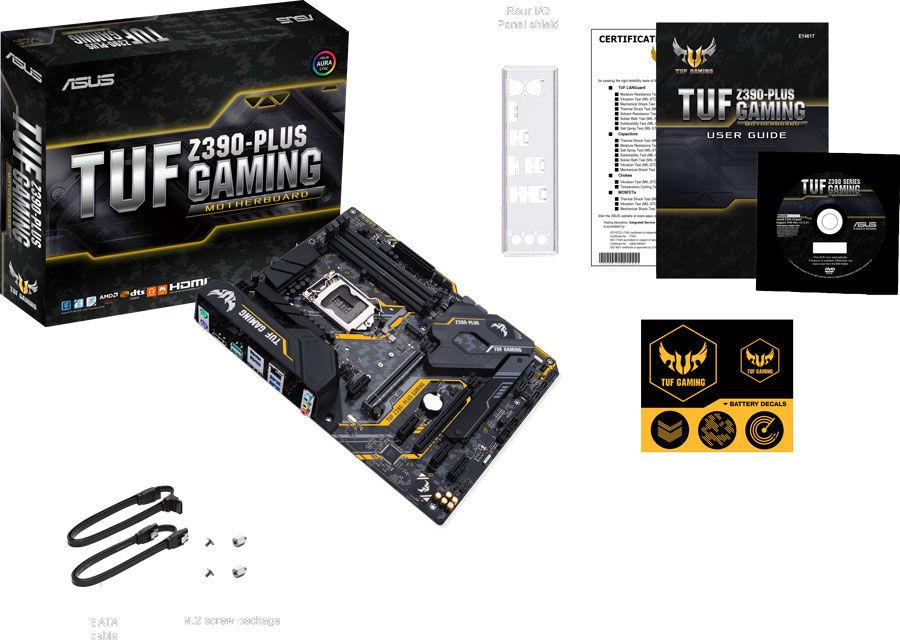 Kit évo Core i5-9600KF + Carte Mère Asus TUF Z390 Plus Gaming + Pure Rock + 16 Go
