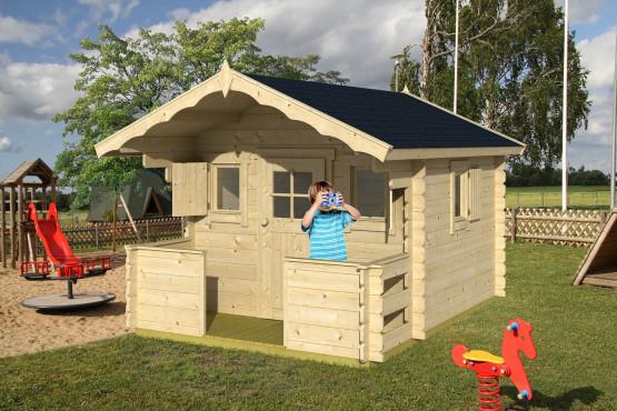 Cabane en bois pour enfant - 4,6m² (touschalets.com)