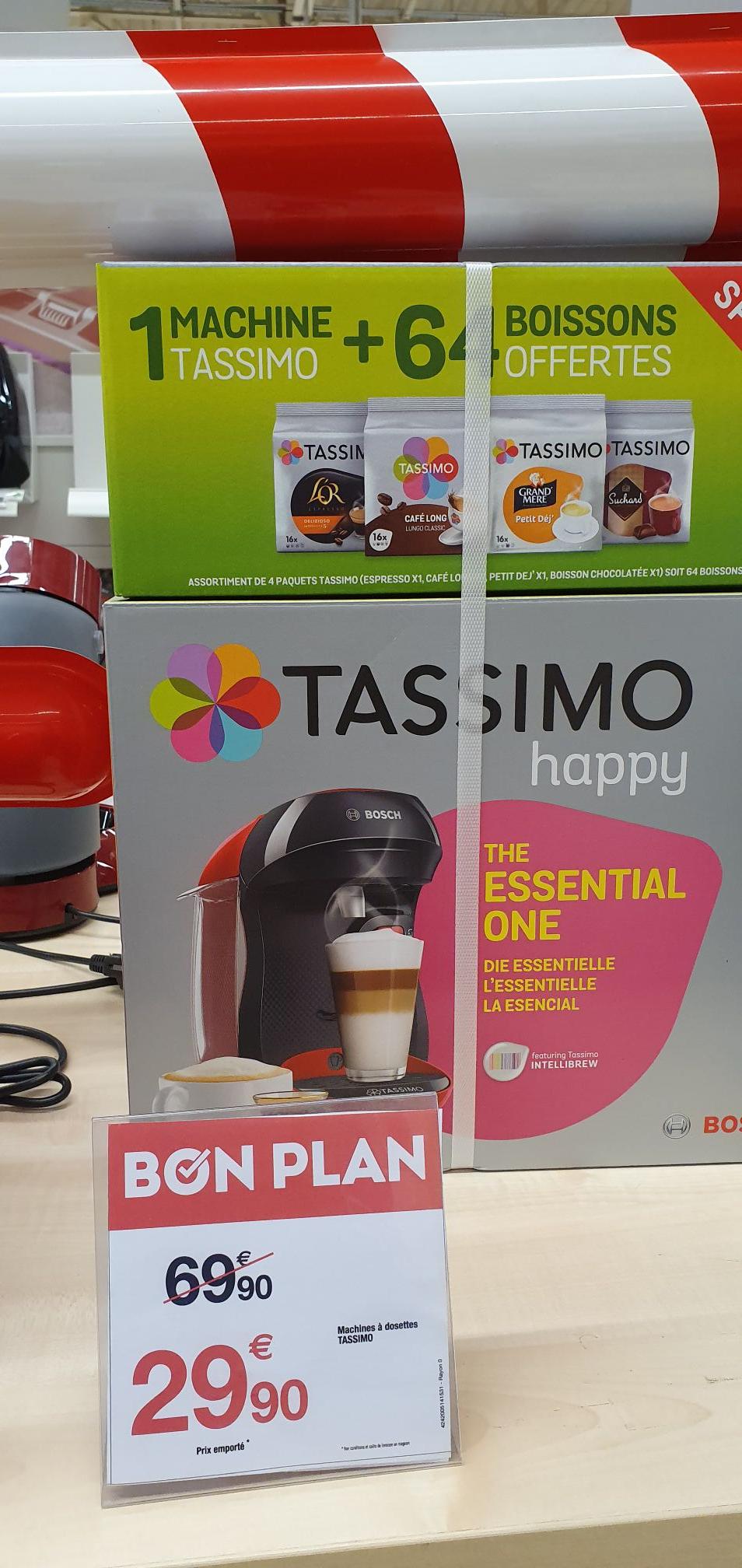 Machine à dosette Tassimo Happy + 64 capsules - port de bouc (13) / Isle-adam (95)