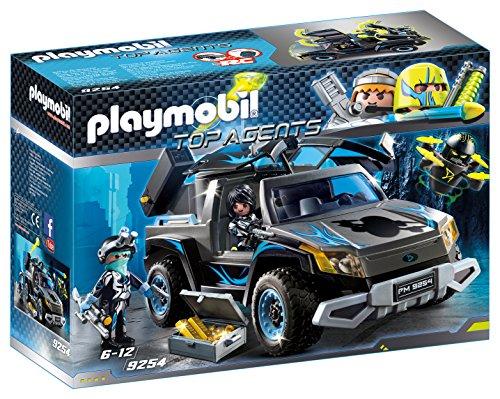 Jouet Playmobil 4x4 des Agents du Dr. Drone n°9254