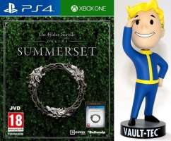 Jeu The Elder Scrolls Online : Tamriel Unlimited + Summerset sur PS4 / Xbox One / PC + figurine Fallout 76