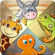 Jeu Enfants Puzzle - 82 animaux Gratuit sur Android