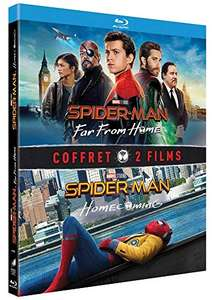 Coffret Blu-ray Spider-Man : Homecoming + Far from Home