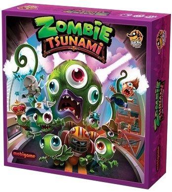 Jeu de société Zombie Tsunami - The Boardgame (VF)
