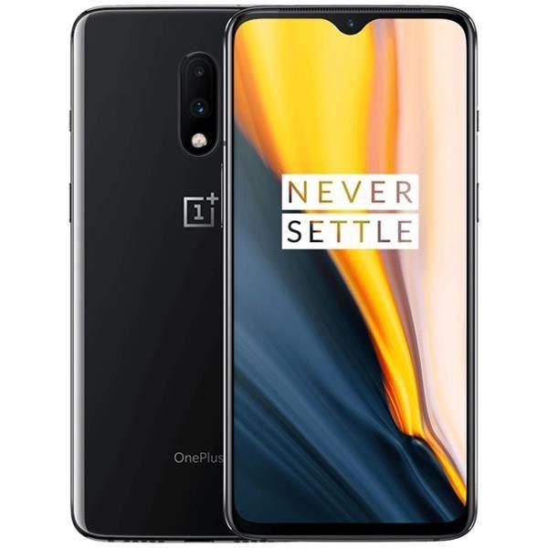 """Smartphone 6.67"""" Oneplus 7 (GM1900) - 8 Go de Ram, 256 Go, Gris Miroir (vendeur tiers)"""