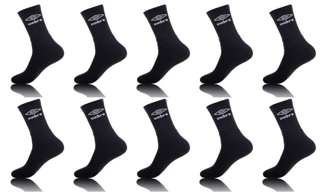 30 Paires de chaussettes Umbro - Différents modèles et coloris
