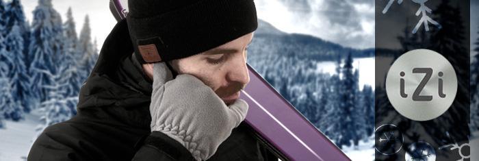 Sélection de gants et bonnets connéctés en promo - Ex : Bonnet Connecté bluetooth izi