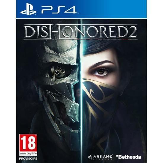 Dishonored 2 sur PS4 (Vendeur Tiers)