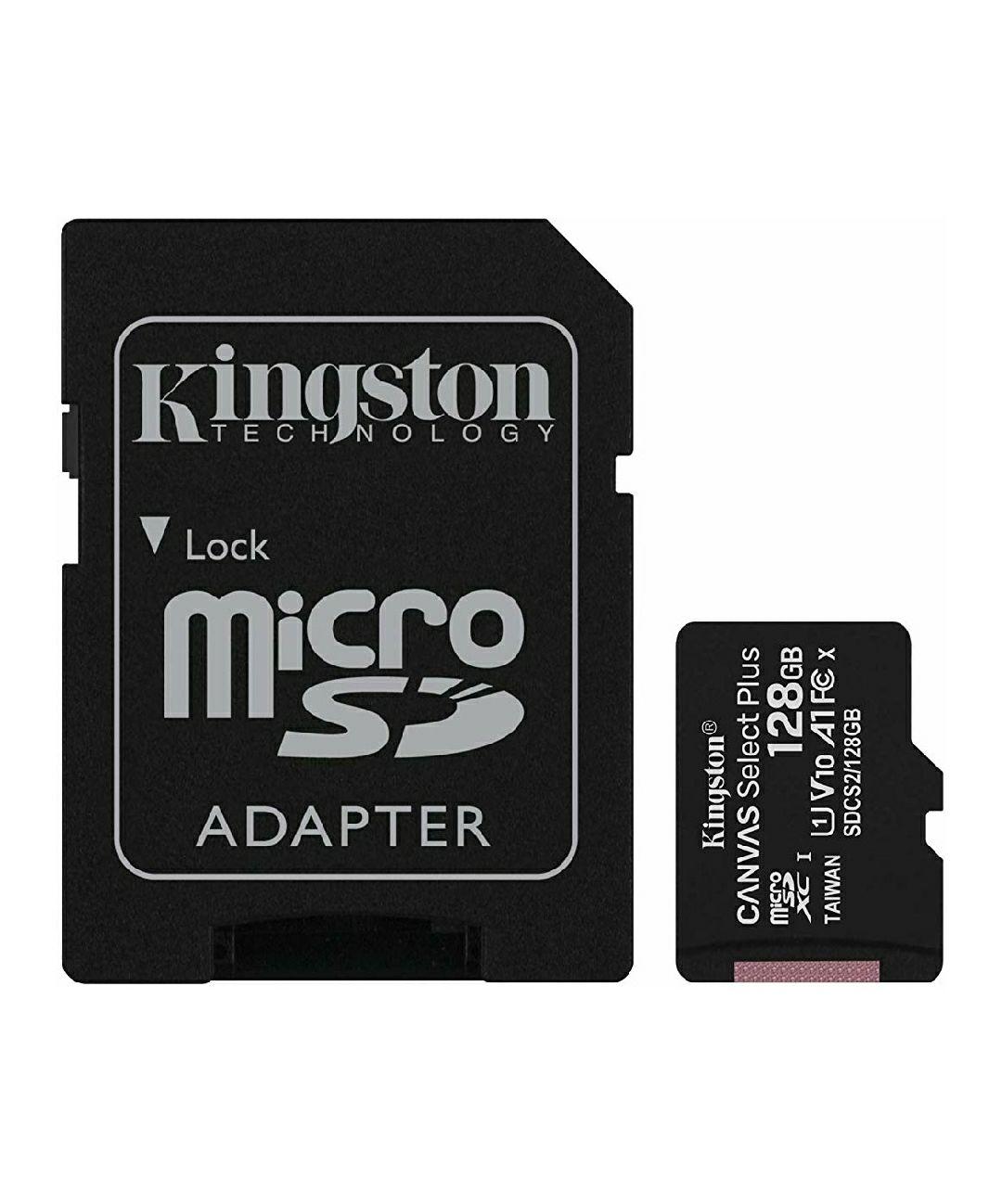 Carte mémoire micro SDXC Kingston Canvas Select Plus - 128 Go