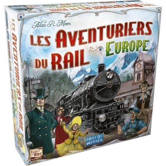 Jeu de société Les Aventuriers du Rail : Europe