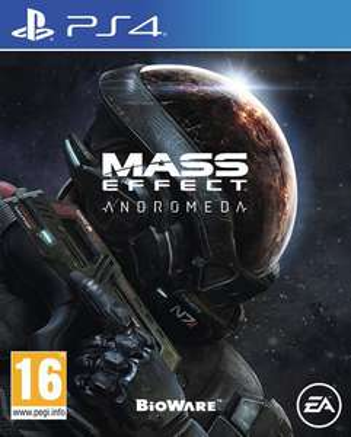 Jeu Mass Effect : Andromeda sur PS4