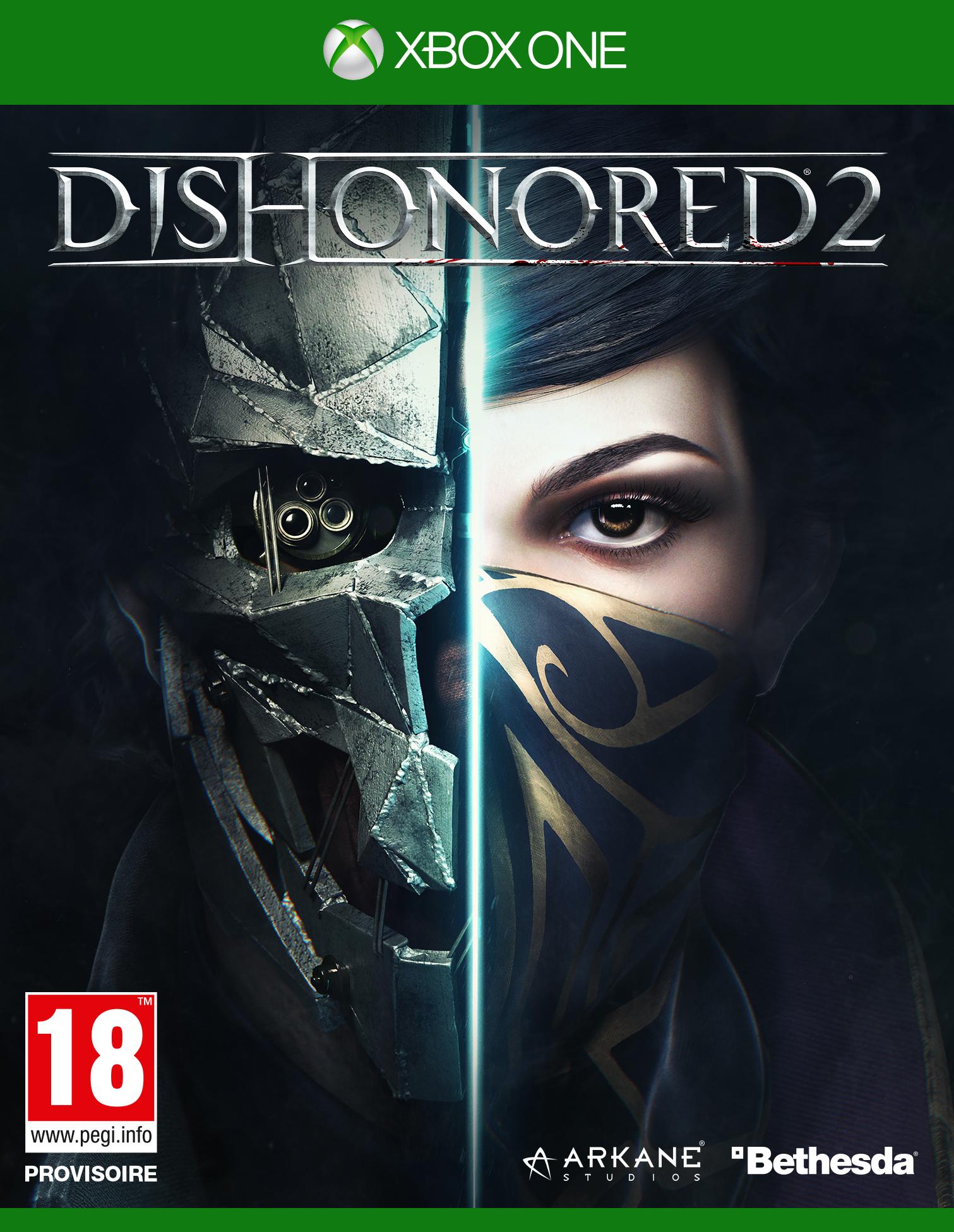 Jeu Dishonored 2 sur Xbox One (+0.31€ en SuperPoints)