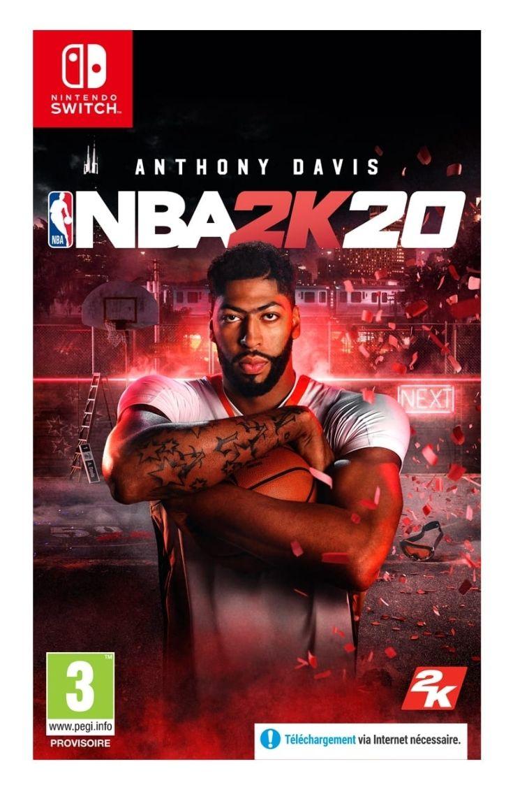Jeu NBA 2K20 sur Nintendo Switch