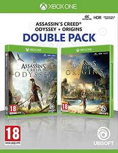 Pack Assassin's Creed: Origins + Odyssey sur Xbox One ou PS4