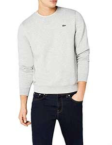 Sweat homme Lacoste - Gris, Taille S