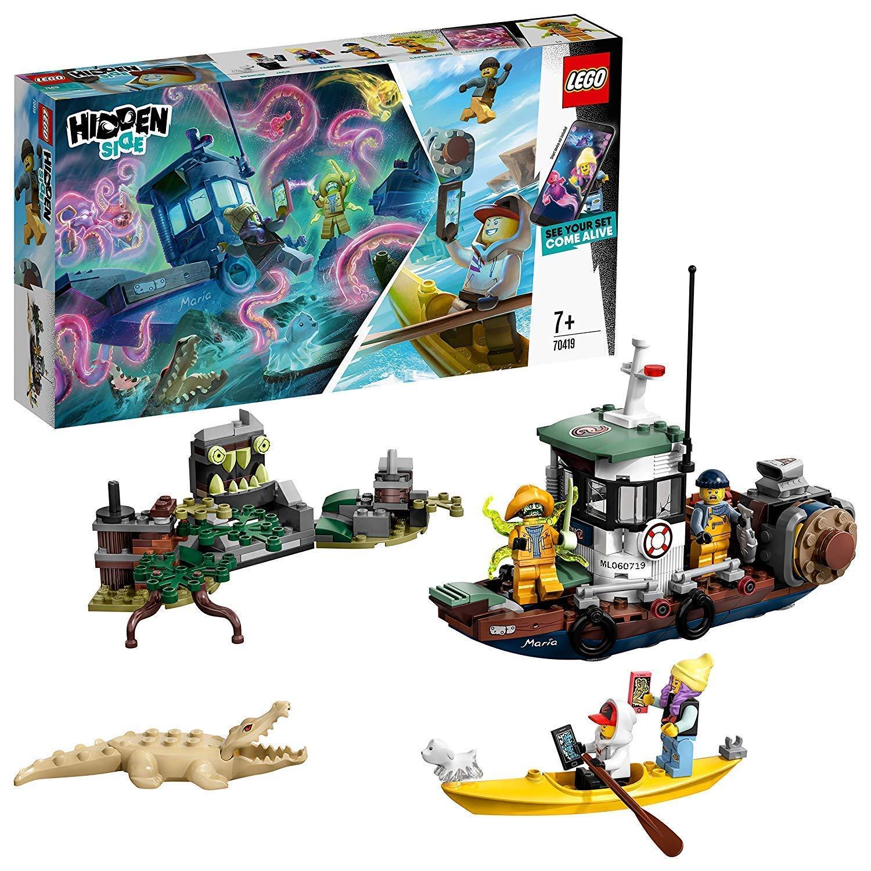 Jeu de construction Lego Hidden Side : Le bateau hanté pour iPhone et Android n°70419