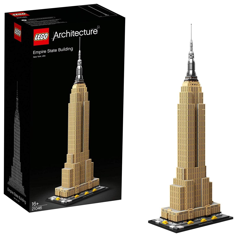 Jeu de construction Lego architecture : L'Empire State Building Architecture Gratte Ciel Historique de New York n°21046