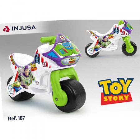 Porteur moto Toys story Injusa (Via 9.9€ sur la carte de fidélité)