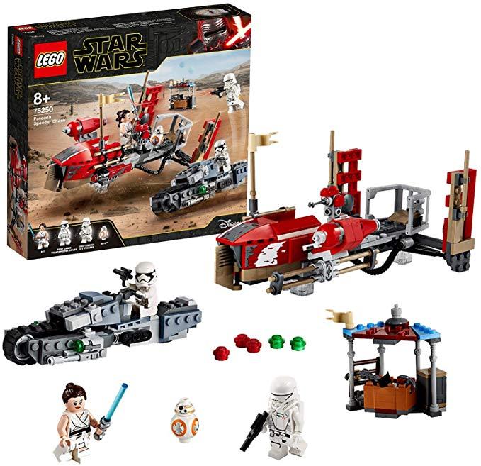 LEGO Star Wars; La course poursuite en speeder (75250)