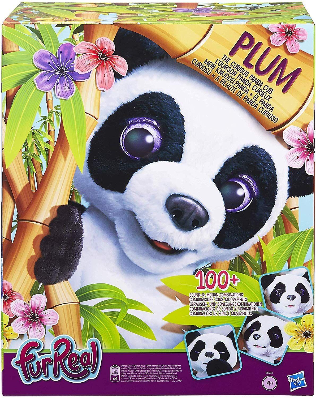 Peluche Interactive Hasbro FurReal Friends - Plum, le Panda Curieux