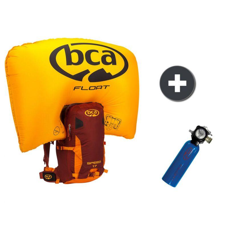 Sac à dos Airbag BCA Float 2.0 17 Speed - Orange Marron + Cartouche Float 2.0 (sportaixtrem.com)