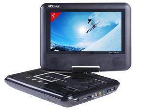 Lecteur DVD portable rotatif 7'' Takara VR121B  (-10€  paiement  buyster)