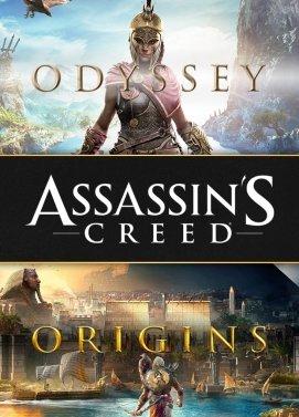 Bundle Assassin's Creed Odyssey + Assassin's Creed Origins sur PC (Dématérialisé - Uplay)