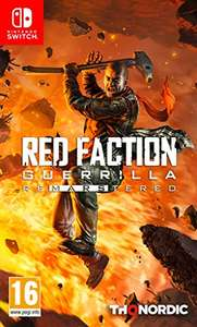 Red Faction Guerrilla Re-Mars-tered sur Nintendo Switch
