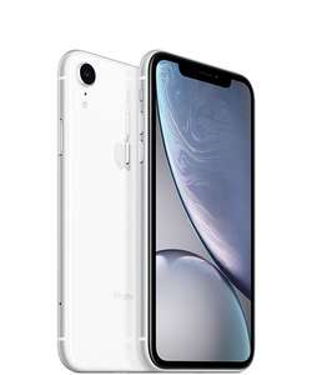 "Smartphone 6.1"" Apple iPhone XR - Blanc, 128 Go"