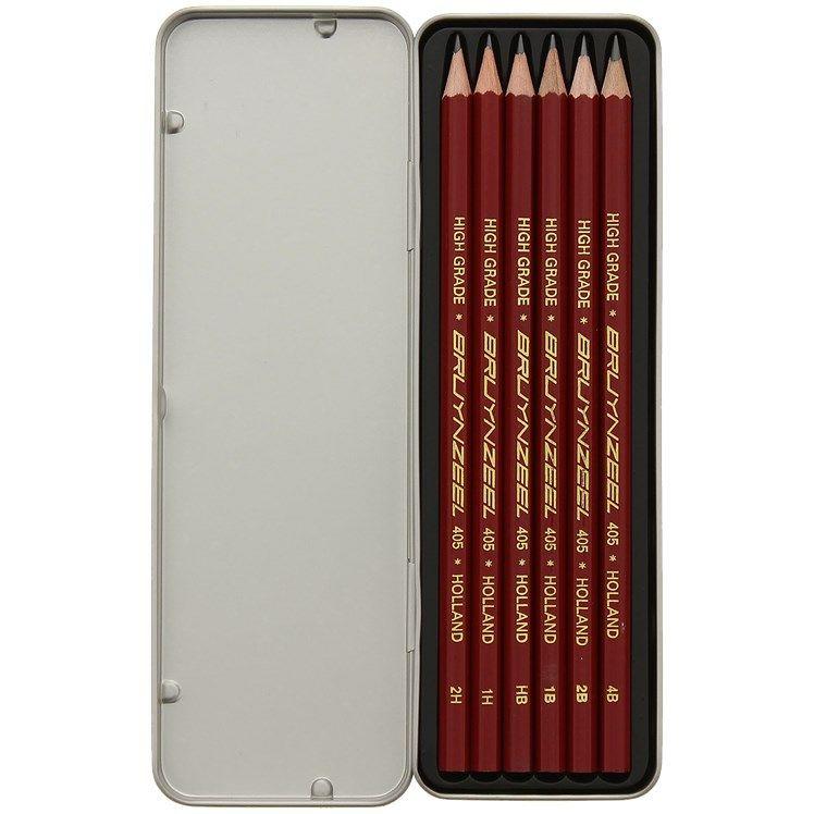Crayons graphite Bruynzeel