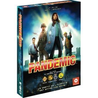 Jeu de société coopératif Pandemic