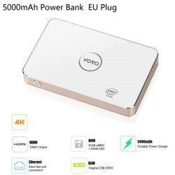 Mini PC/Box TV Voyo V2 - Windows 10, 4K, 2 Go, 32 Go ROM, 64 Go SSD