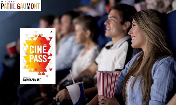 Abonnement Cinepass 1an illimité chez Pathé Gaumont