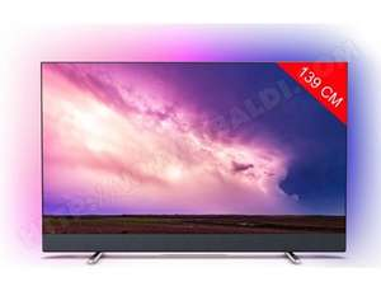 "TV 55"" Philips 55PUS8804 - 4K UHD, HDR10+, Ambilight 3 côtés, Dolby Vision & Atmos, Android TV (via ODR de 300€)"