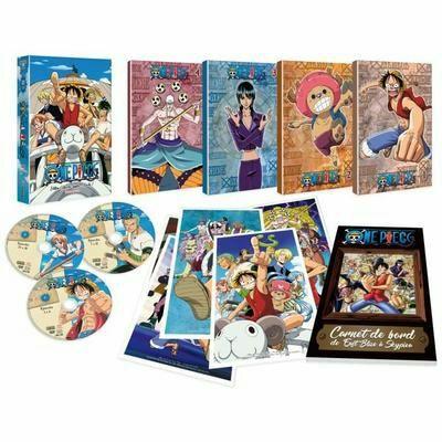 Coffret One Piece Partie 1 - Édition Collector (33 DVD - Vendeur Tiers)