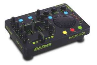 Controleurs Mix numérique Dj Tech Mix 101 avec code promo