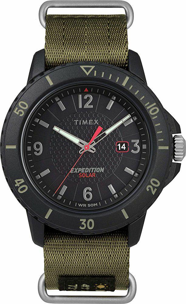 Montre Analogique Quartz Solaire Timex Expedition TW4B14500 - 45 mm, 5 ATM