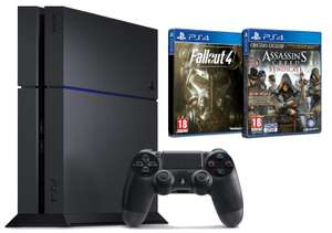 Pack Console Sony PS4 500 Go Chassis C + Assassin's Creed : Syndicate + Fallout 4