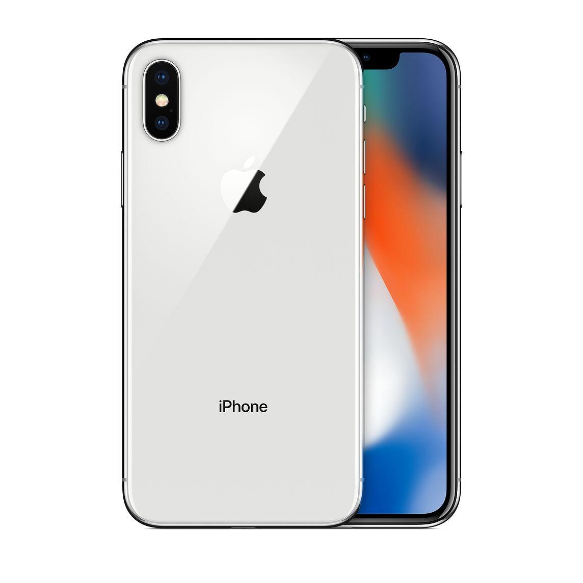 "Smartphone 5.8"" Apple iPhone X - 256 Go (Reconditionné à neuf)"