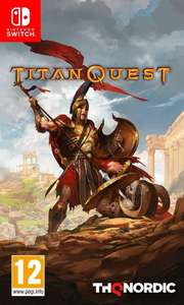 Jeu Titan Quest sur Nintendo Switch