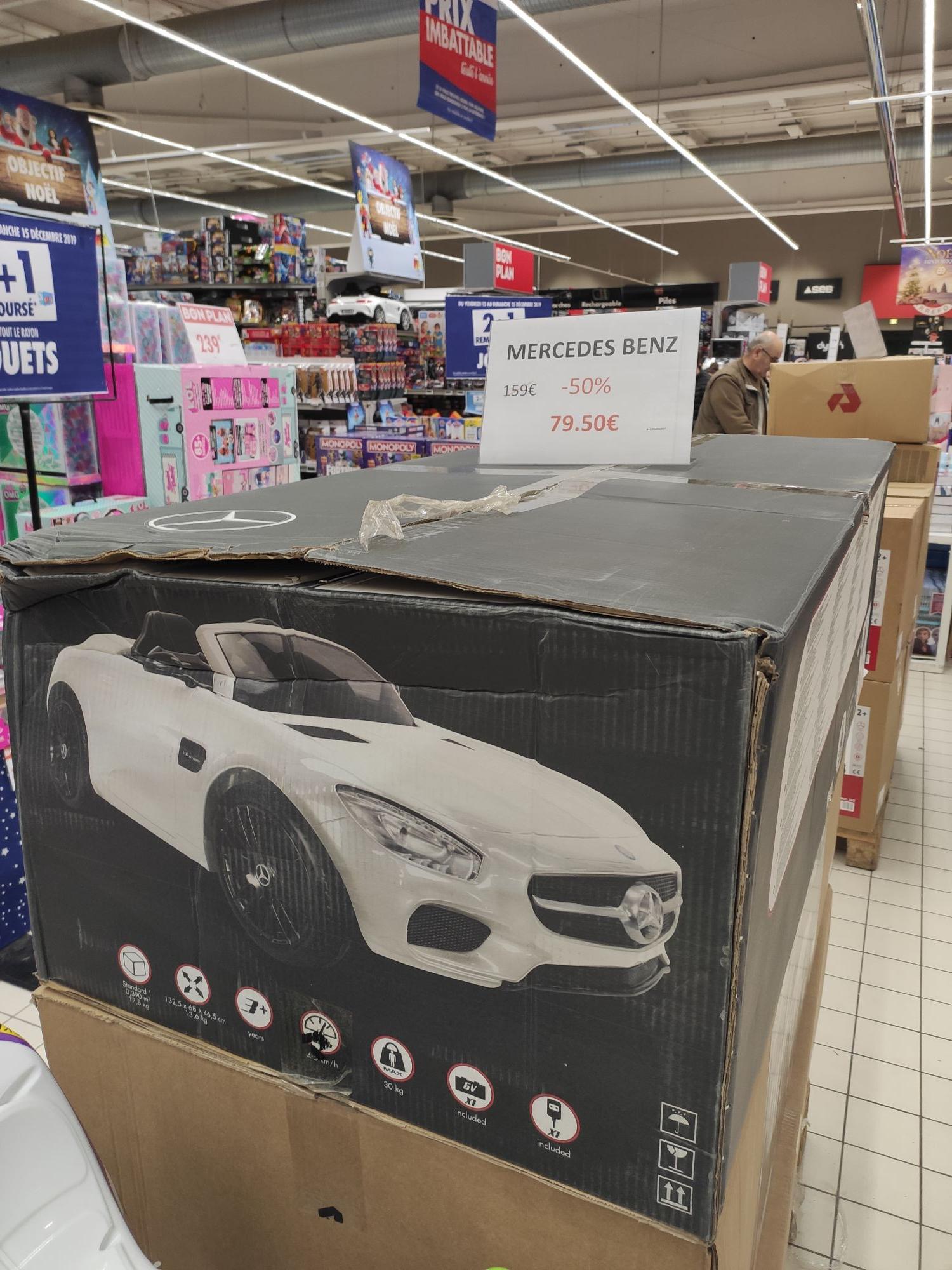 Voiture électrique pour enfants Mercedes BENZ AMG - Roanne (42)