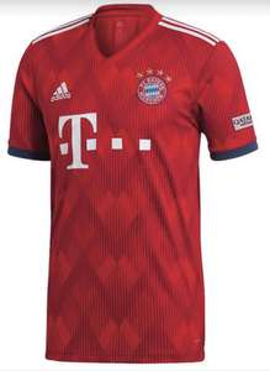 Maillot de football domicile Bayern de munich 2018-2019