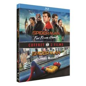 Coffret Blu-ray : Spider-Man : Far From Home et Spider-Man : Homecoming