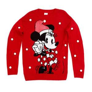 Pull de Noël Minnie pour adultes, collection Holiday Chee
